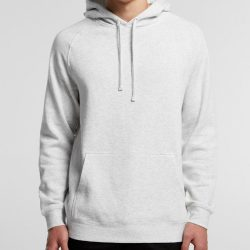 Sample image of a plain white AS Colour 5101 Supply Pull-on hoodie