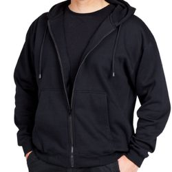 Sample image of plain Ramo T612H Zip Hoodie